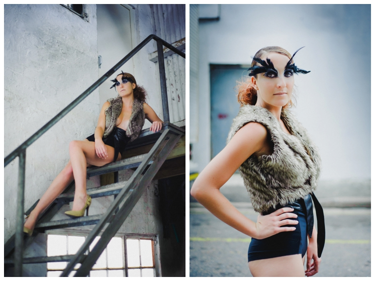 , Portraits with Make-Up The College, Casey Pratt Photography