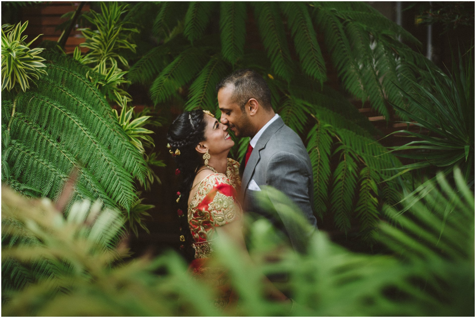 Shree Radha Krishna Temple Wedding | Sairu & Deshen