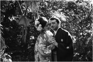 Japanese Jewish Unique garden wedding in Gillitts Durban